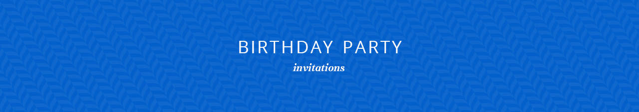 Birthday Party Invitations Shop Now