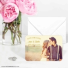 Breaking News 6 Wedding Save The Date Magnets