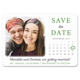 Calendar Couple Nb 1 Save The Date Magnets