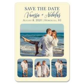 Modern Love Nb 1 Save The Date Magnets
