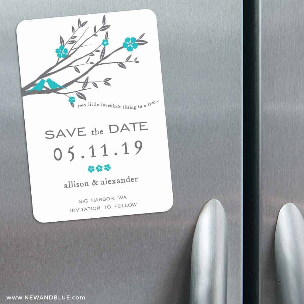 Save the date magnets in Melbourne